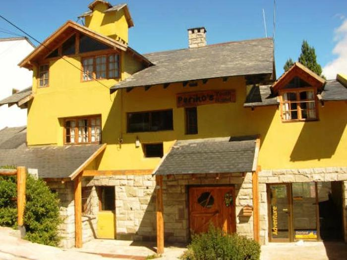 Fachada do Hostel Periko's Youth em Bariloche