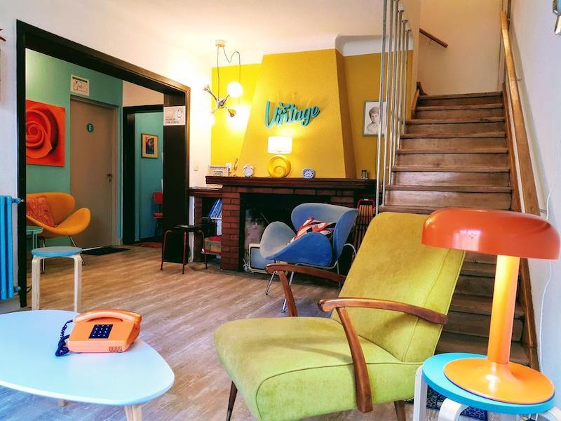 Interior do Hostel Boutique Vintage Bariloche