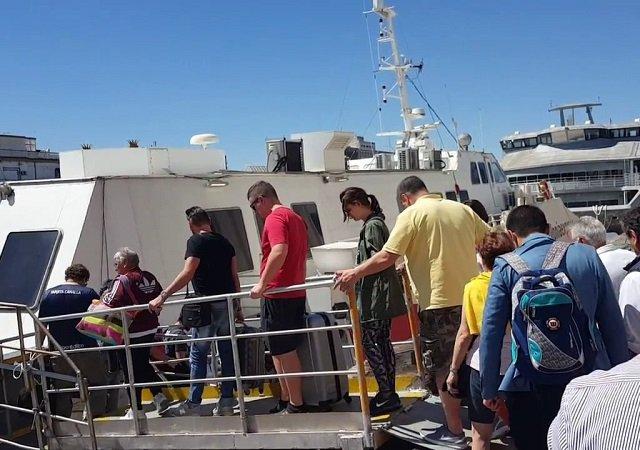 Principais trajetos de ferries saindo da Argentina
