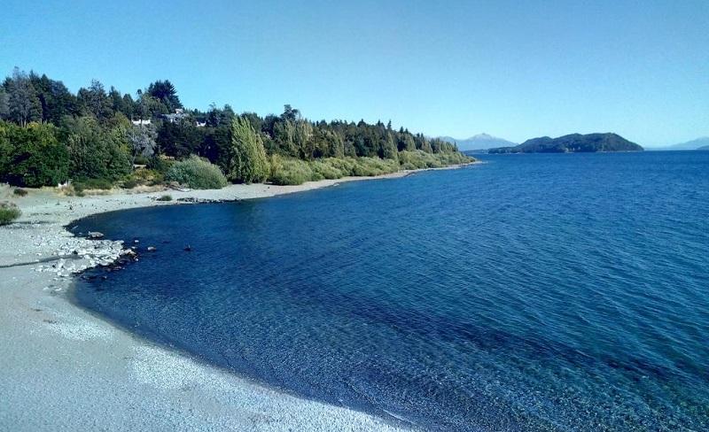 Praia de Bariloche na Argentina