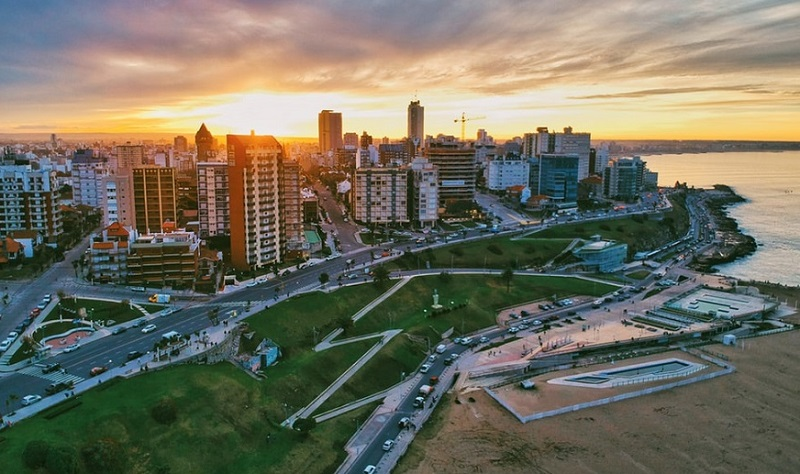 Pôr do sol na Argentina