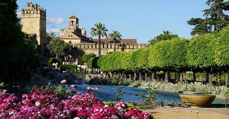 Alcázar de los Reyes Cristianos em Córdoba