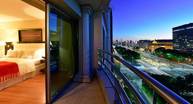 Hotel com vista de Buenos Aires