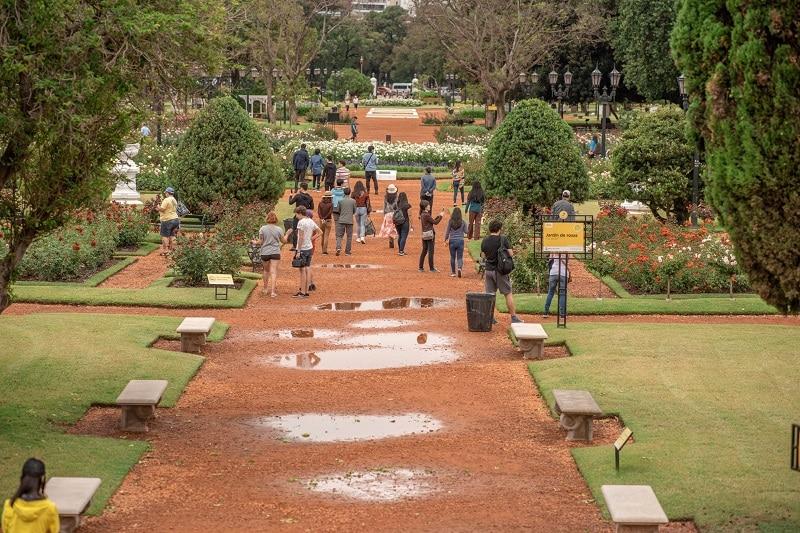 Jardim Botânico em Buenos Aires