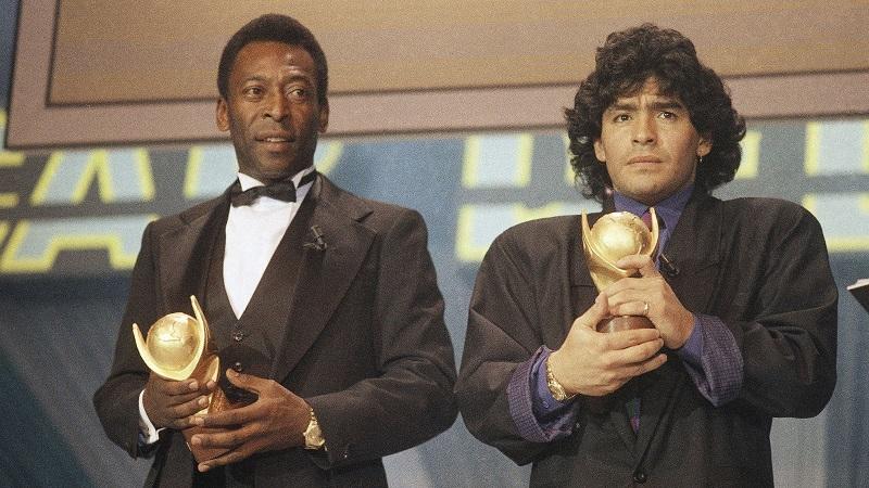 Pelé e Maradona