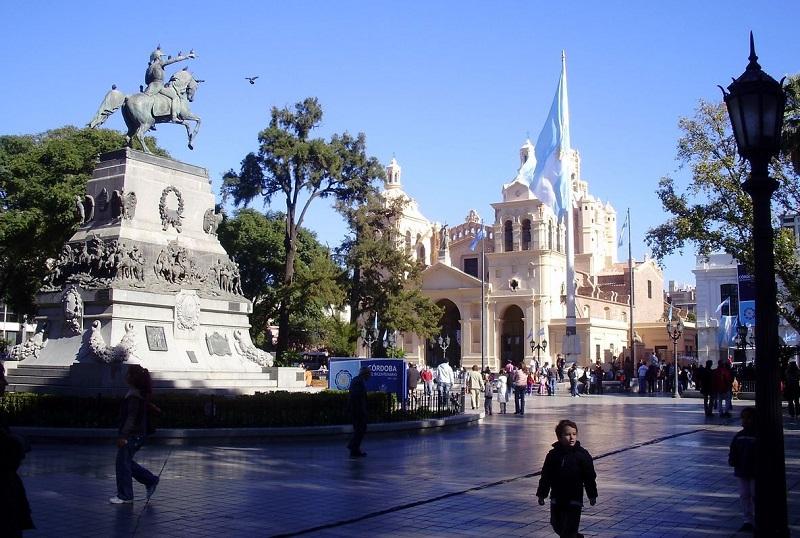 Plaza San Martín em Córdoba
