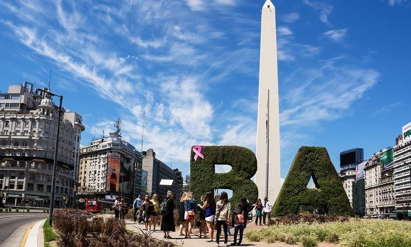 Turistas em Buenos Aires - Argentina