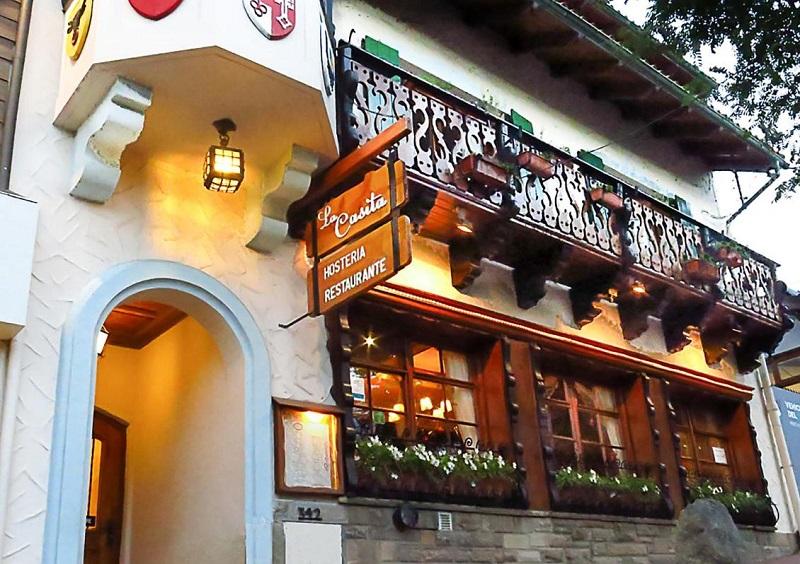 Restaurante La Casita em Bariloche
