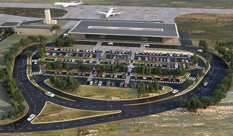 Como ir do aeroporto de La Rioja até o centro turístico