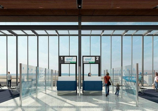 Transfer do aeroporto de San Martín de Los Andes até o centro turístico