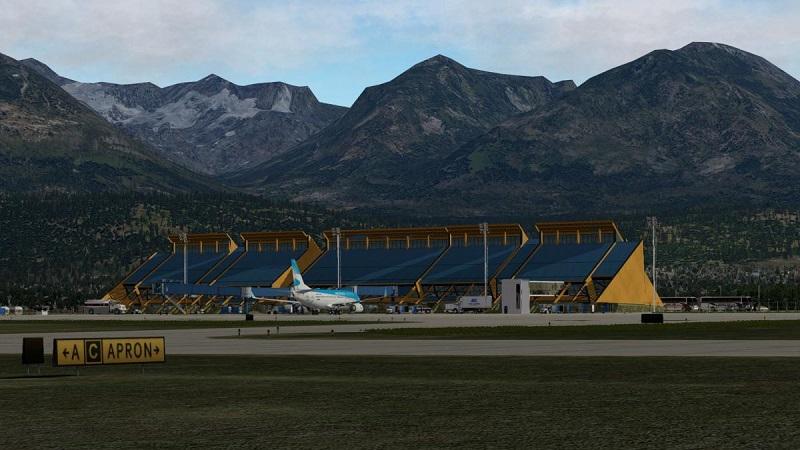Transfer do aeroporto de Ushuaia até o centro turístico