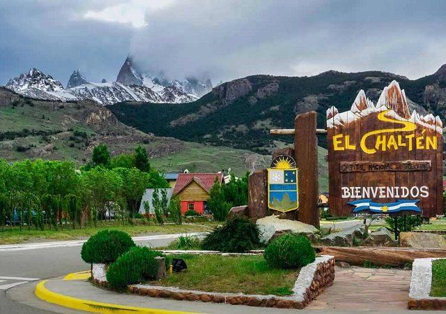 Transfer do aeroporto de El Chaltén até o centro turístico