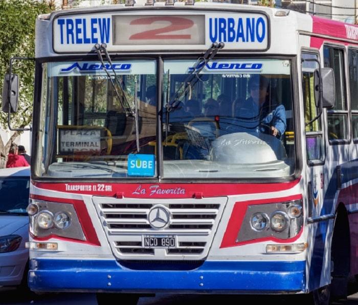 Ônibus em Trelew