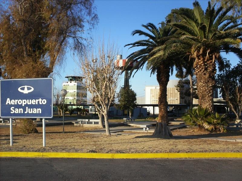 Placa do aeroporto de San Juan